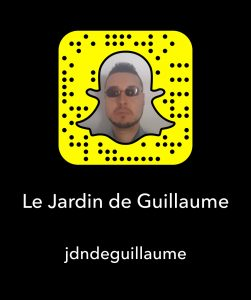 Snapchat Le Jardin de Guillaume