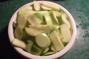 Pommes granny le Jardin de Guillaume 2