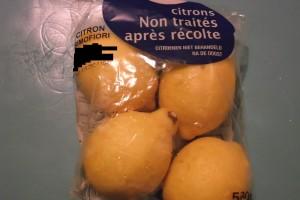 Citrons Le Jardin de Guillaume