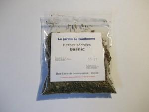 [Le jardin de Guillaume] Basilic séché