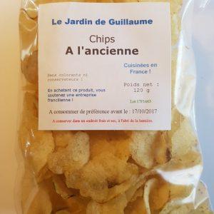 [Le Jardin de Guillaume] Chips à l'ancienne au sel marin de Camargue