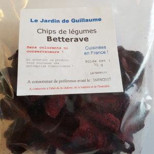 [Le Jardin de Guillaume] Chips betterave