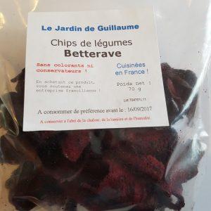 [Le Jardin de Guillaume] Chips betterave