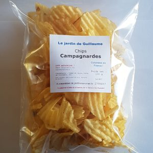 [Le Jardin de Guillaume] Chips campagnardes