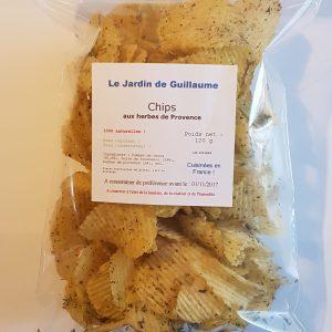 Chips aux herbes de Provence 20170816