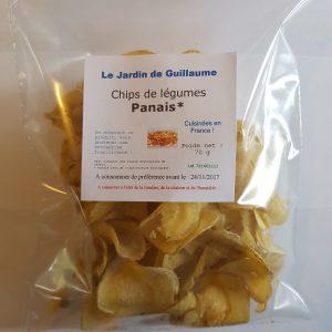 [Le Jardin de Guillaume] Chips panais 20170821