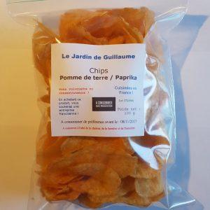 [Le Jardin de Guillaume] Chips paprika 20170822