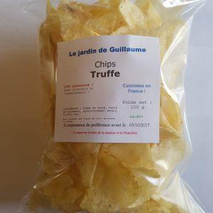 [Le Jardin de Guillaume] Chips truffe 20170824