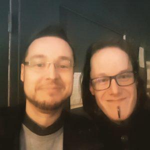Selfie avec Florent Kosmala